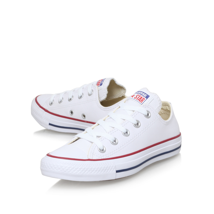 Converse Low White Leather Cheap Burgundy Converse