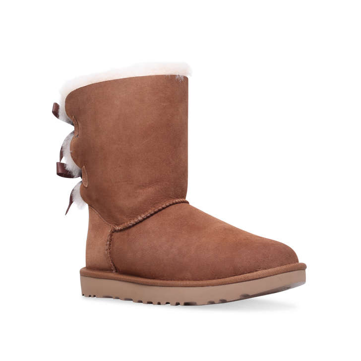 UGG Bailey bow - brown flat calf boots Sale 2018 New Zm54gMtFup