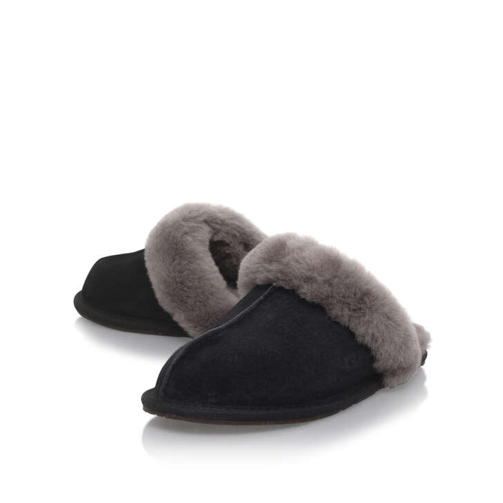 afd1aec35ae Scuffette Ii Black Suede Slippers By UGG | Kurt Geiger