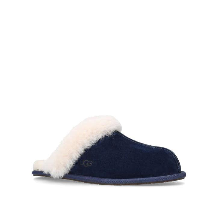 c7816aa9928 Scuffette Ii Dark Blue Suede Slippers By UGG