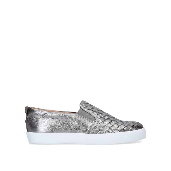 JAGOS Metallic Slip On Trainers by