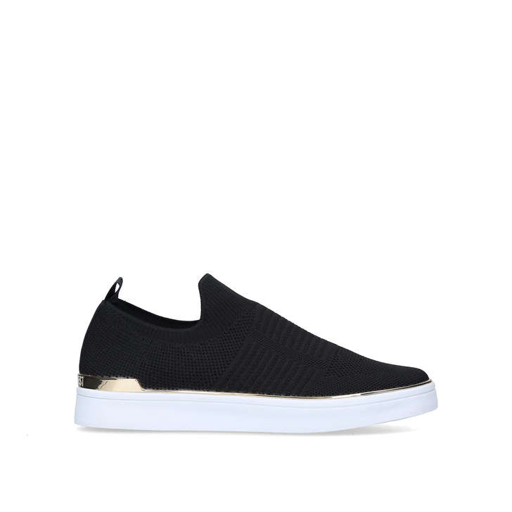 STAXI CUPE SOLE SNEAKER Black Slip On