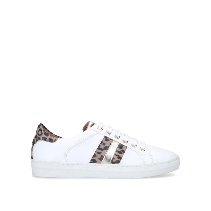 STRIPE White Trainers by NINE WEST