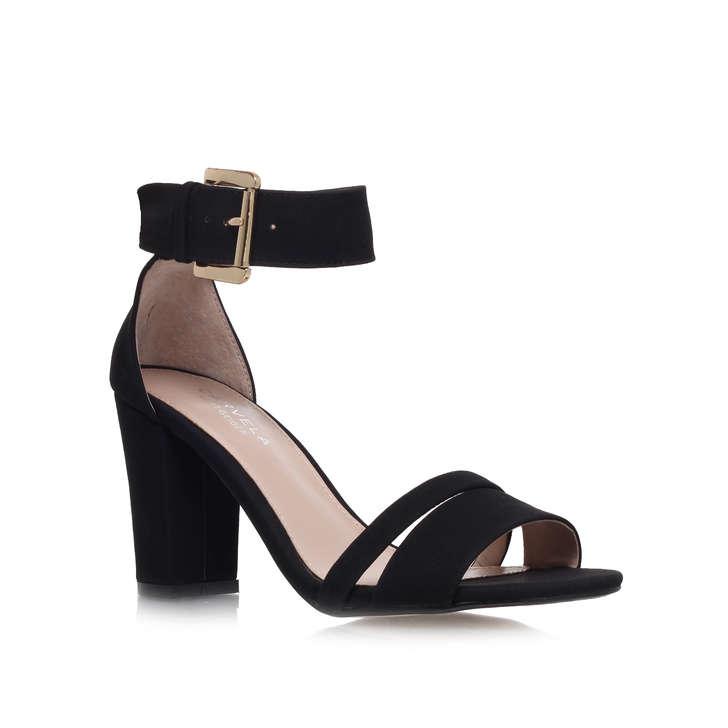 499fd3870 Carly Black High Heel Sandals By Carvela