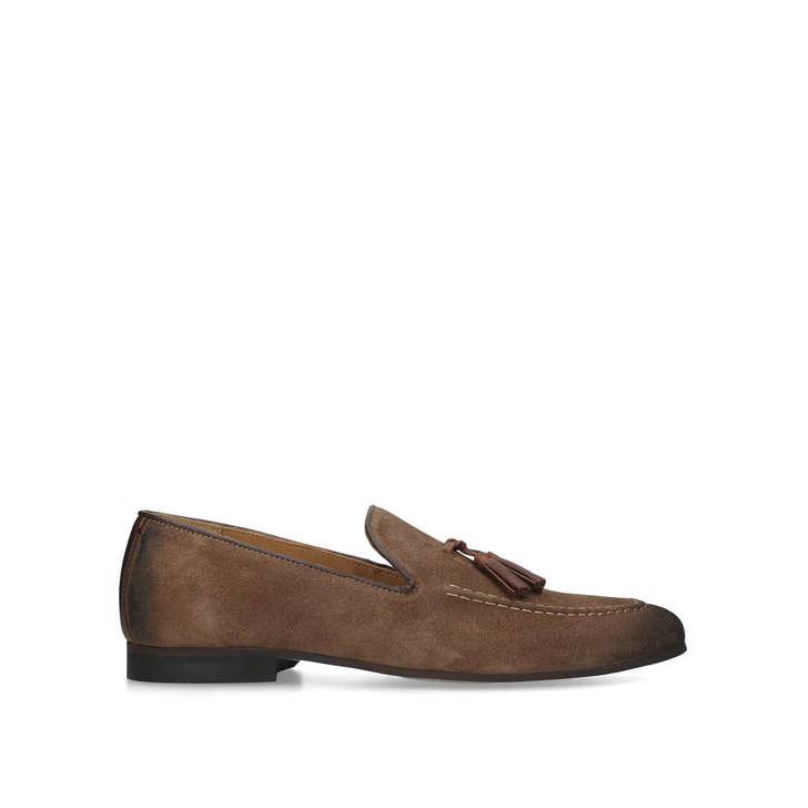 NAPLES Tan Tassel Loafers by KURT