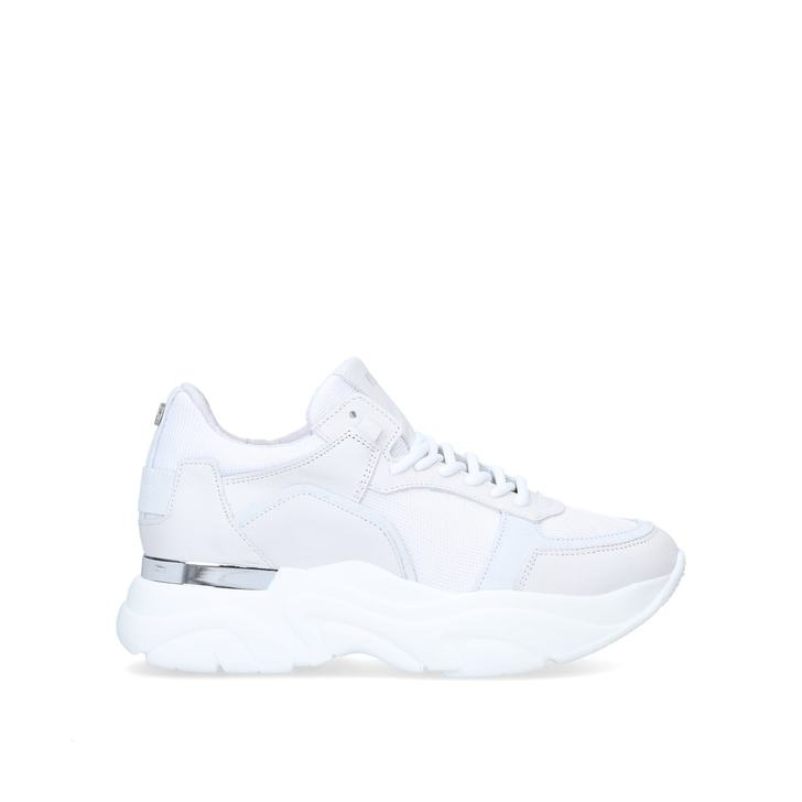 FLEXY White Chunky Trainers by STEVE