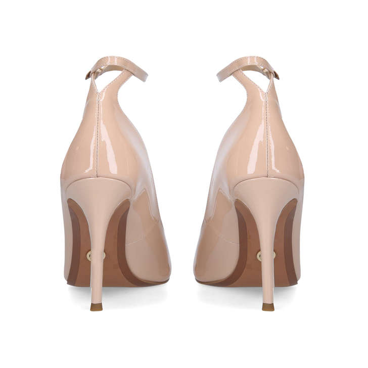 Danielle Pale Pink Peep Toe Stiletto