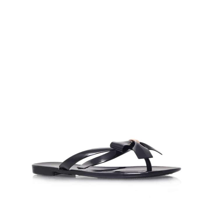 Black Flip Flops by CARVELA | Kurt Geiger