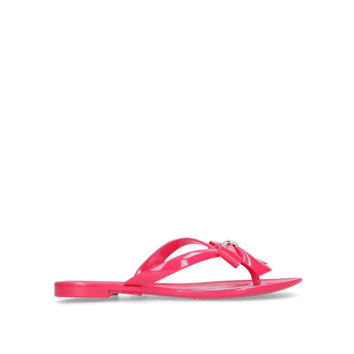 563a0bf8be58 Star Pink Jelly Flip Flops By Carvela