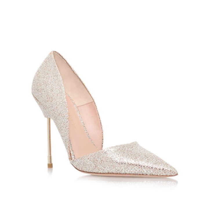 Bond Gold High Heel Court Shoes By Kurt Geiger London