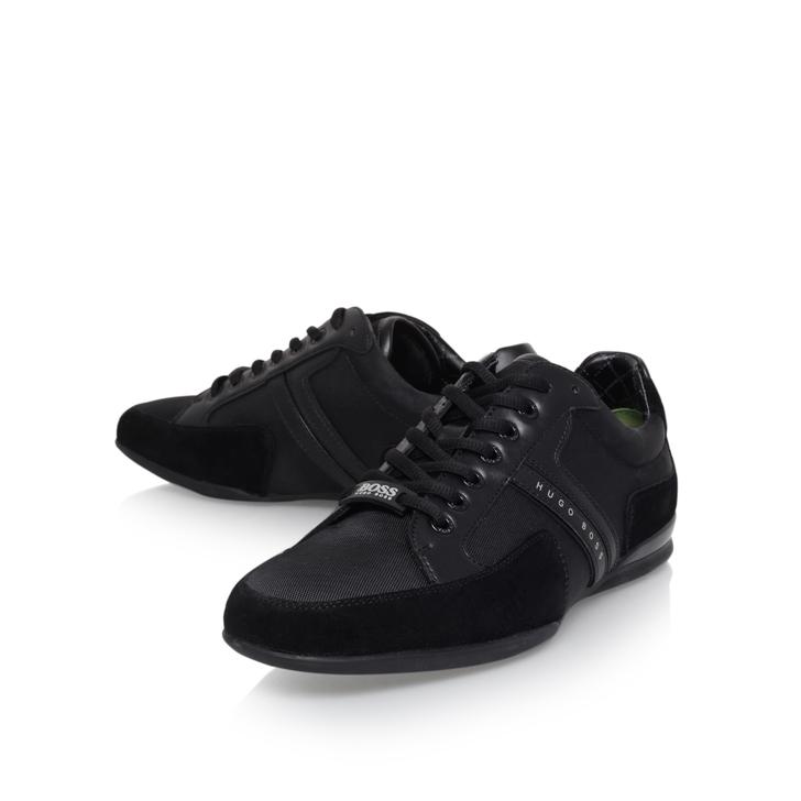 Patron Noir Bas-tops Et Chaussures De Sport 61zPI
