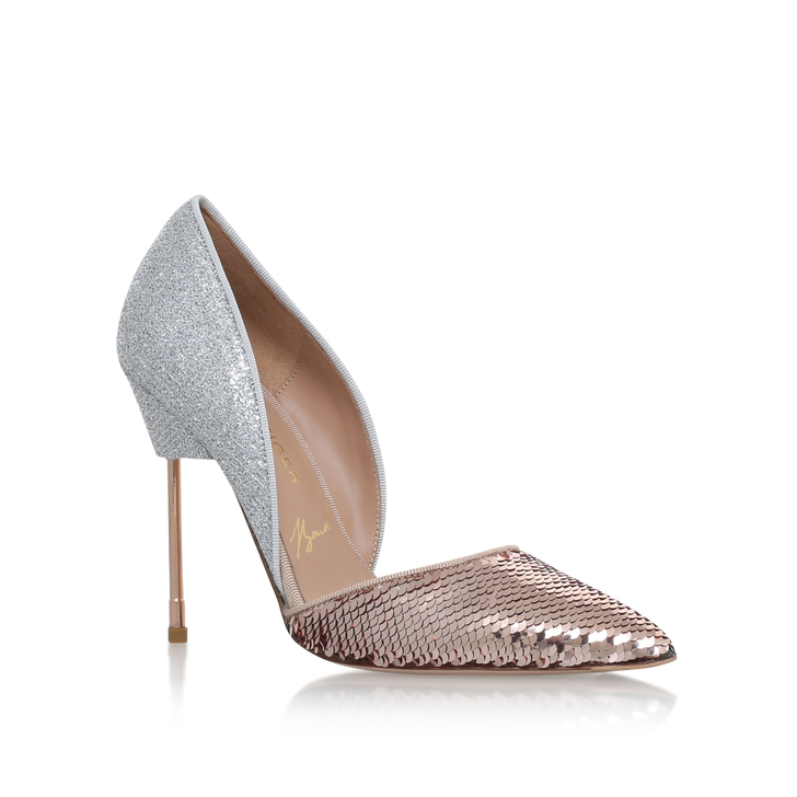 e7d984e1c4d Bond Pink High Heel Court Shoes By Kurt Geiger London | Kurt Geiger