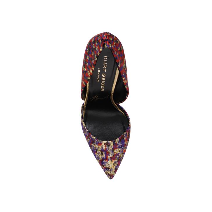 6909782e95f Bond Multi-coloured High Heel Court Shoes By Kurt Geiger London ...