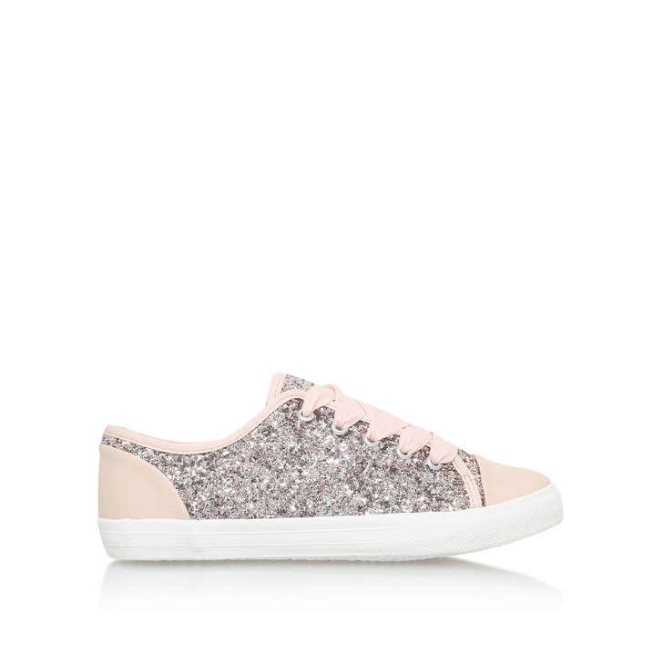 Nine West Glitter White Shoes