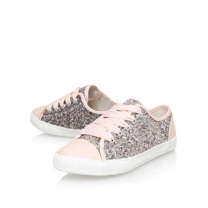 Carvela Glitter Flat Shoes