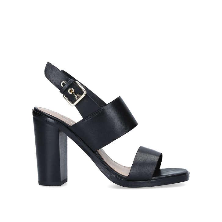 FIELIA Black Block Heel Sandals by ALDO