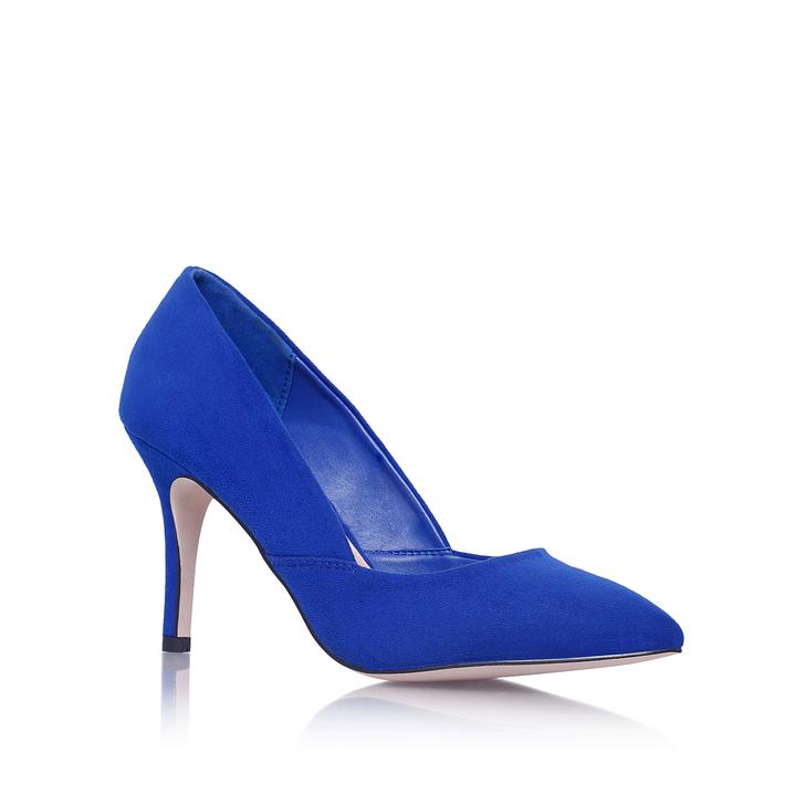 Blue Suedette   Miss KG   Kurt Geiger