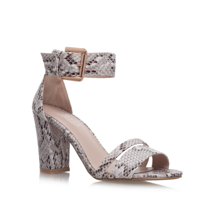 72747eb64 Carly Snake Mid Heel Sandals By Carvela