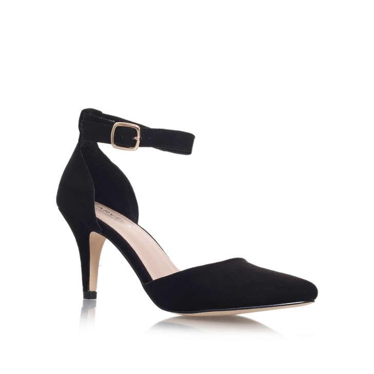 Kandice Black Mid Heel Sandals By Carvela Kurt Geiger | Kurt Geiger