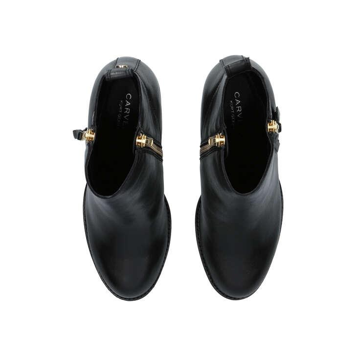 0f5371b76087 Tanga Black Block Heel Ankle Boots By Carvela | Kurt Geiger