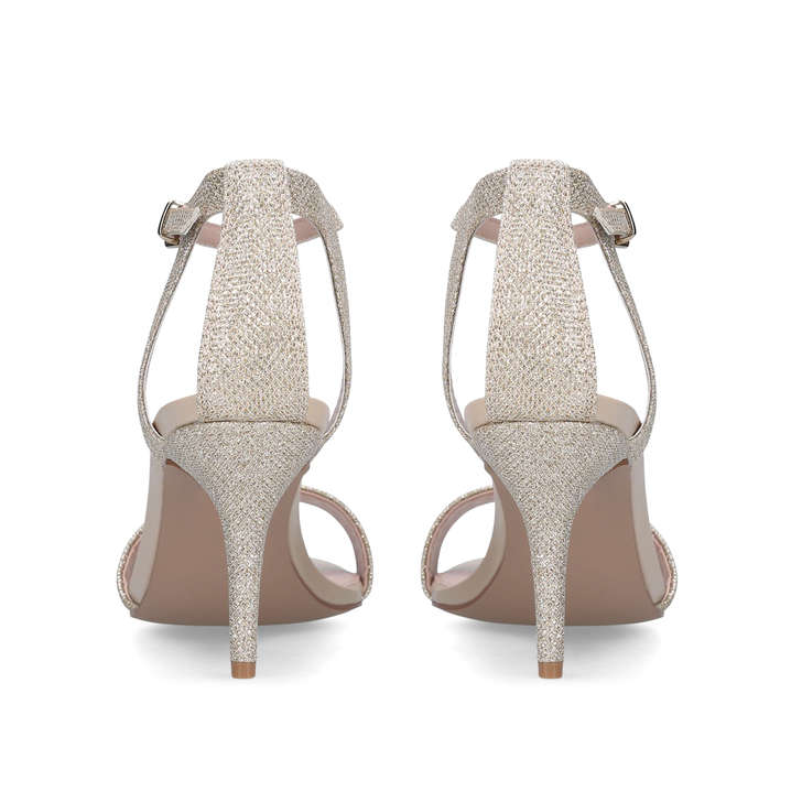 237187515584 Kollude Gold Mid Heel Sandals By Carvela