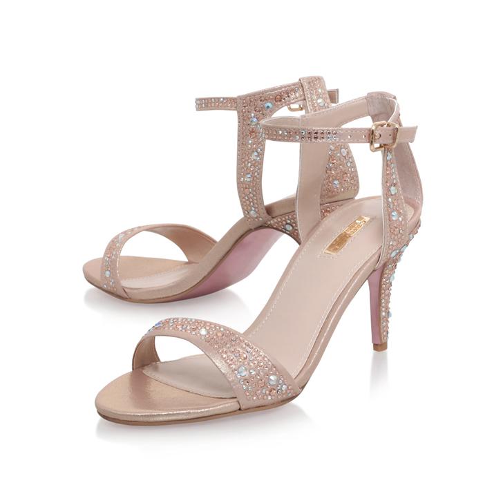 05db769aeb12 Kollude Pink Mid Heel Sandals By Carvela
