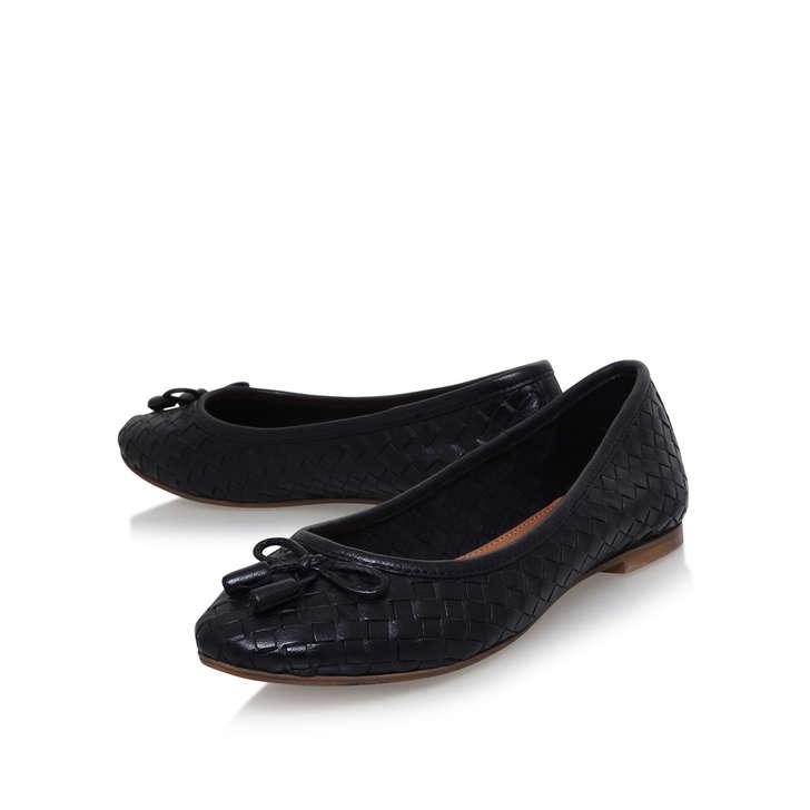 075398a07 Luggage Black Ballerina Shoes By Carvela | Kurt Geiger