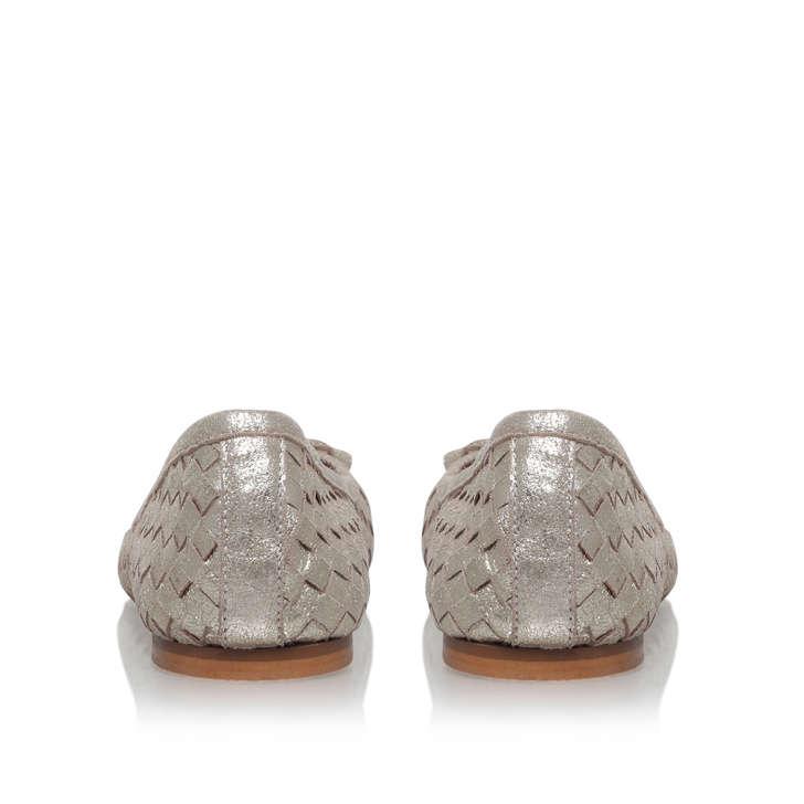 73bb85c63 Luggage Gold Flat Ballerina Shoes By Carvela | Kurt Geiger