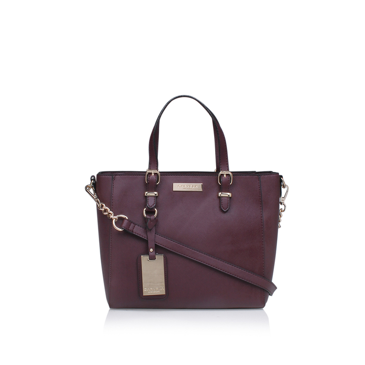 Danna Mini Winged Tote Wine Tote Bag By Carvela Kurt Geiger