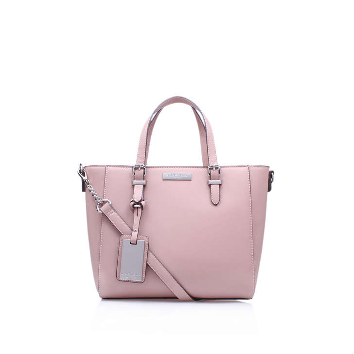 Danna Mini Winged Tote Pink Tote Bag By Carvela Kurt Geiger | Kurt ...
