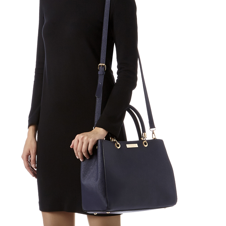 11bad8f05838e0 Darla Structured Tote Navy Tote Bag By Carvela | Kurt Geiger