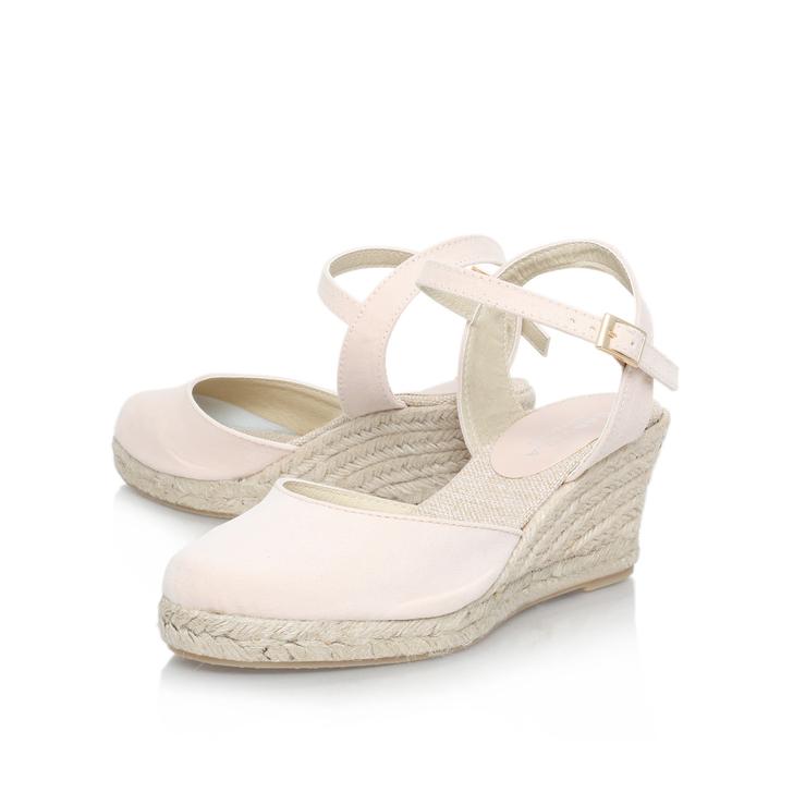 f0cebfa6845 Sabrina Nude Mid Heel Wedge Shoes By Carvela