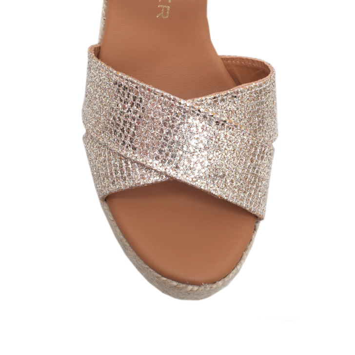Clearance Amazing Price Clearance Collections Kurt Geiger Amerie - peach high heel wedge sandals rwcVNIUF1