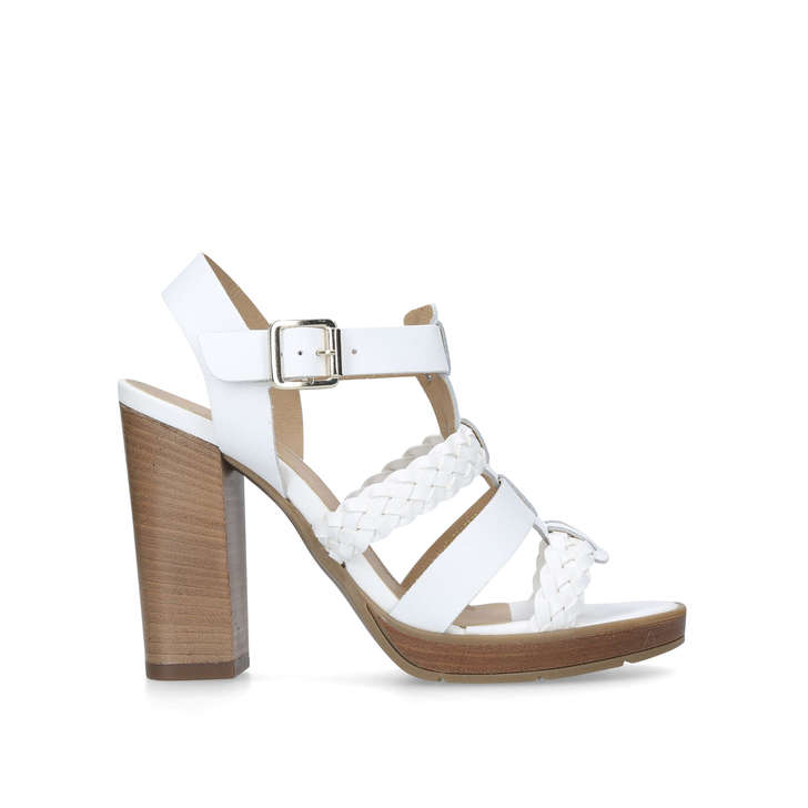 Clearance With Credit Card Natural And Freely Carvela Krill - white high heel sandals vPfkZG4hL