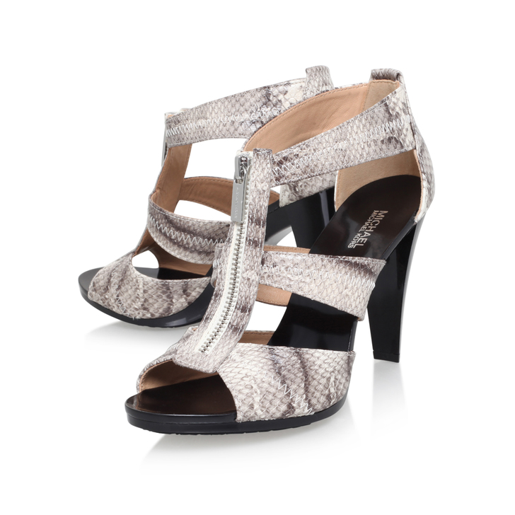 3db068a4b4bd Berkley T Strap Beige Mid Heel Sandals By Michael Michael Kors ...