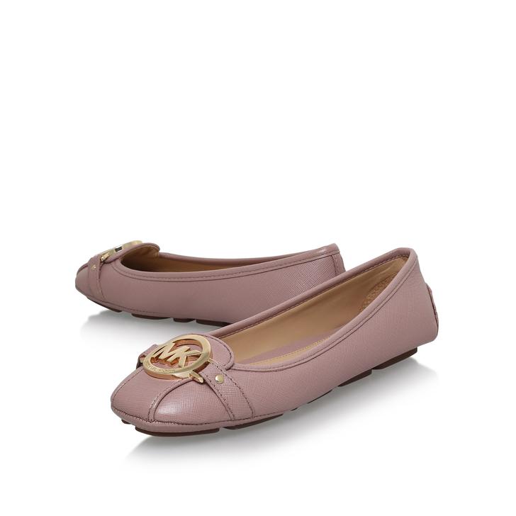 Fulton Moc Pink Flat Shoes By Michael