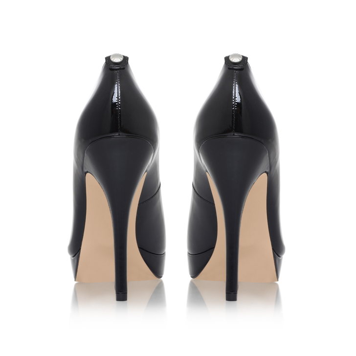 0b368380425 York Platform Black High Heel Court Shoes By Michael Michael Kors ...