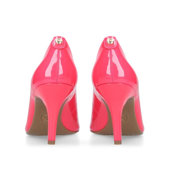 9fa7e7bdc50d Mk Flex Mid Pump Pink Mid Heel Court Shoes By Michael Michael Kors ...