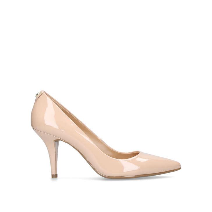 b049b520ac86 Mk Flex Mid Pump Nude Mid Heel Court Shoes By Michael Michael Kors ...