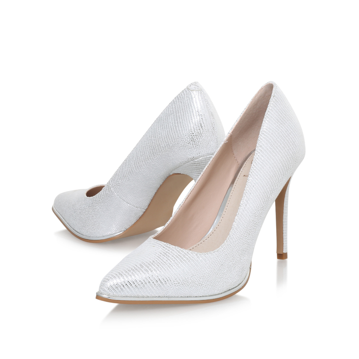 50% price thoughts on sale uk Beauty Silver High Heel Court Shoes By KG Kurt Geiger | Kurt ...