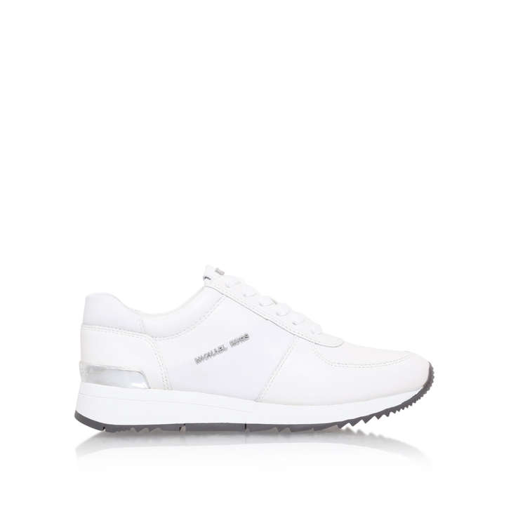 908abd7aaab Allie Trainer White Low Top Trainers By Michael Michael Kors