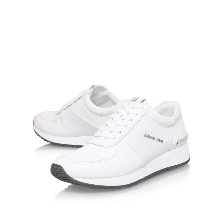 7904c11876a2 Allie Trainer White Low Top Trainers By Michael Michael Kors