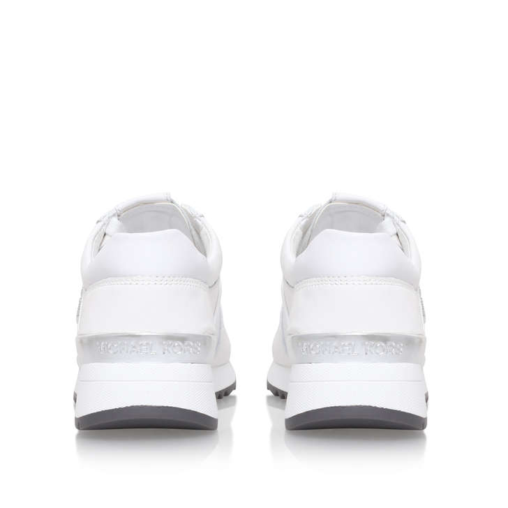0cca08608630 Allie Trainer White Low Top Trainers By Michael Michael Kors