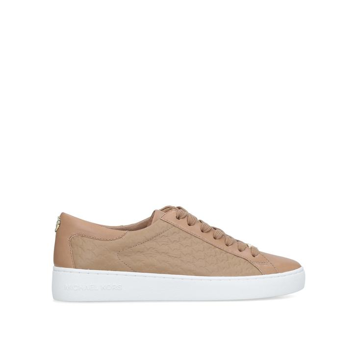 colby sneaker nude low top trainers by michael michael kors kurt geiger. Black Bedroom Furniture Sets. Home Design Ideas