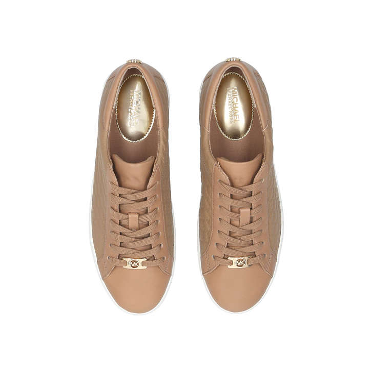 colby sneaker nude low top trainers by michael michael. Black Bedroom Furniture Sets. Home Design Ideas