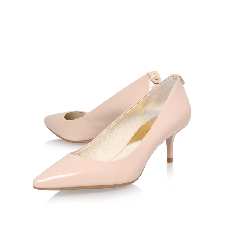 large discount authentic quality store Mk Flex Kitten Pump Nude Mid Heel Court Shoes By Michael ...