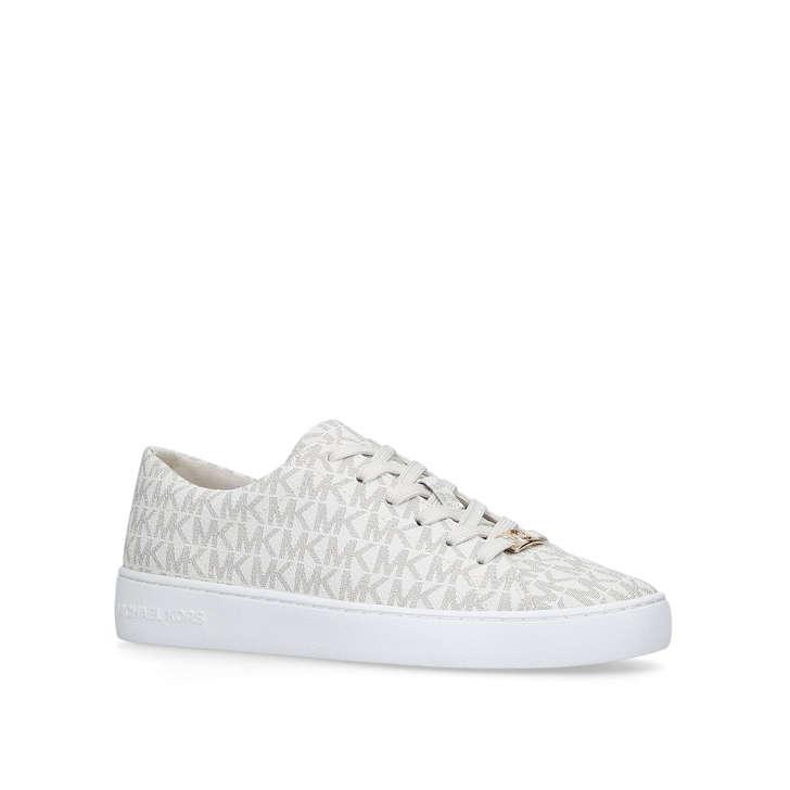 9383f921275 Keaton Sneaker Cream Low Top Trainers By Michael Michael Kors   Kurt Geiger