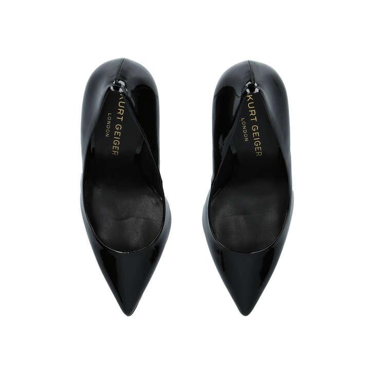d9f469ede59 Britton Black High Heel Court Shoes By Kurt Geiger London | Kurt Geiger