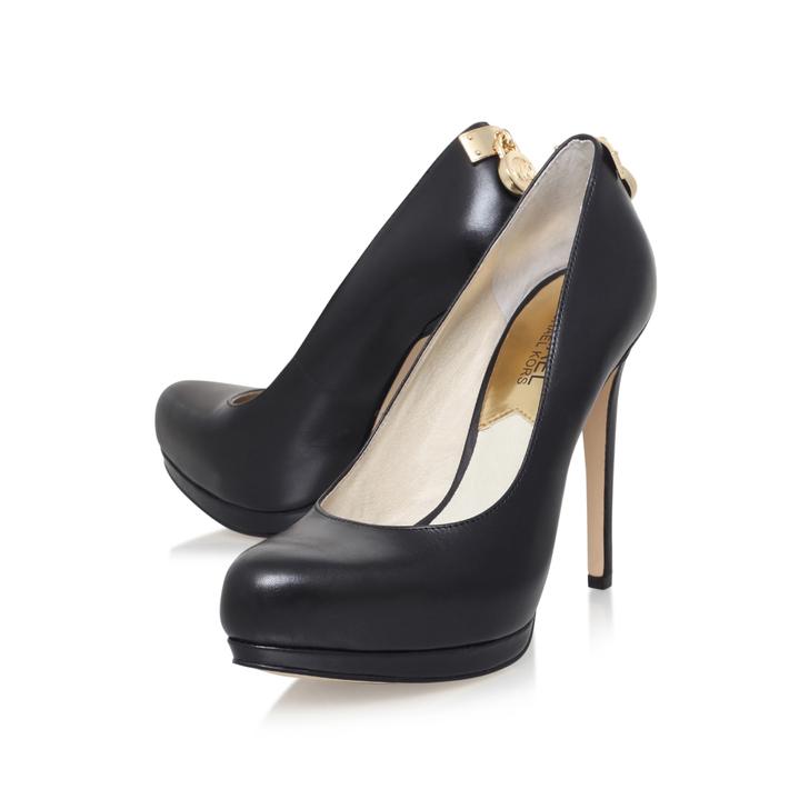 25e1d47c2bd6 Hamilton Pump Black High Heel Court Shoes By Michael Michael Kors ...