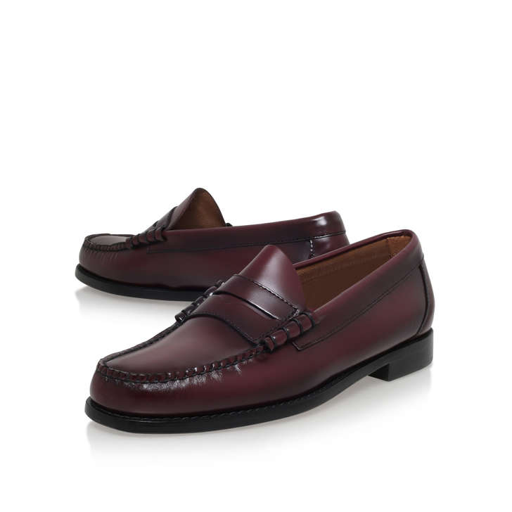 d8a93c14f3c Larson Moc Penny Loafer Wine Loafer Soes By Bass Weejuns